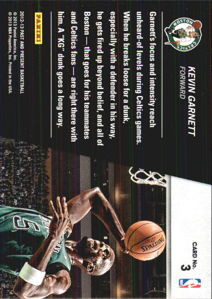 2012-13 Panini Past and Present Shattered #3 Kevin Garnett