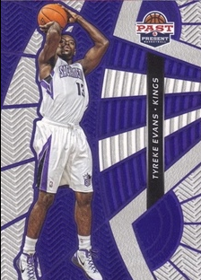 2012-13 Panini Past and Present Treads #25 Tyreke Evans