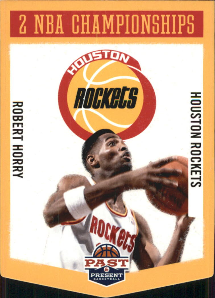 2012-13 Panini Past and Present Championship Banners #9 Robert Horry