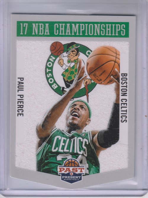 2012-13 Panini Past and Present Championship Banners #25 Paul Pierce