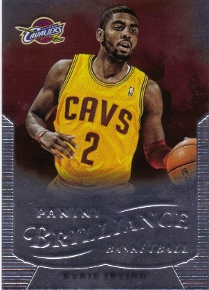 2012-13 Panini Brilliance #260 Kyrie Irving RC