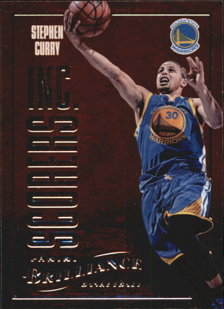 2012-13 Panini Brilliance Scorers Inc. #5 Stephen Curry
