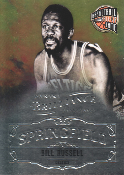 2012-13 Panini Brilliance Springfield #1 Bill Russell