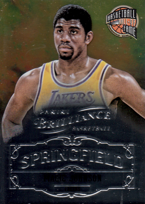 2012-13 Panini Brilliance Springfield #8 Magic Johnson