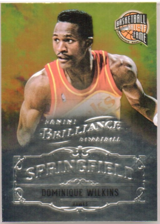 2012-13 Panini Brilliance Springfield #12 Dominique Wilkins