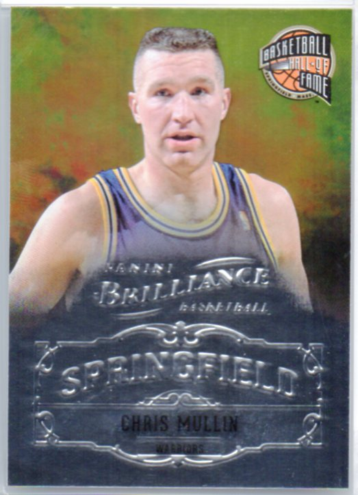 2012-13 Panini Brilliance Springfield #13 Chris Mullin
