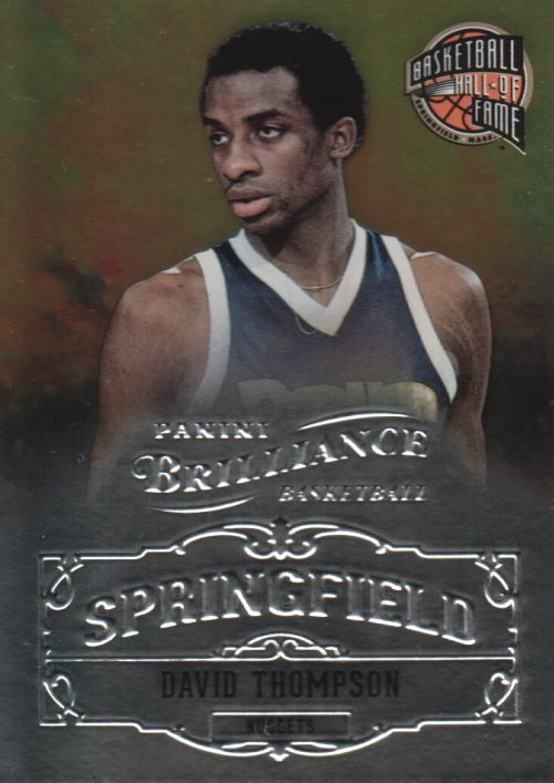 2012-13 Panini Brilliance Springfield #15 David Thompson