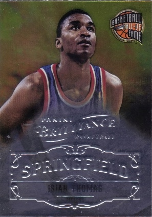 2012-13 Panini Brilliance Springfield #16 Isiah Thomas