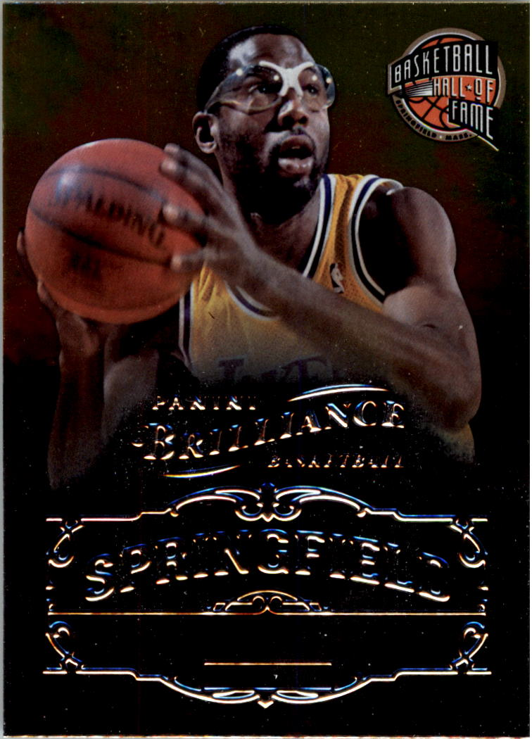 2012-13 Panini Brilliance Springfield #19 James Worthy