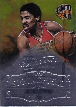 2012-13 Panini Brilliance Springfield #21 Julius Erving