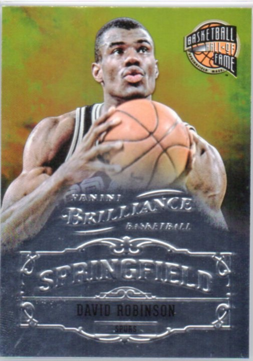 2012-13 Panini Brilliance Springfield #23 David Robinson