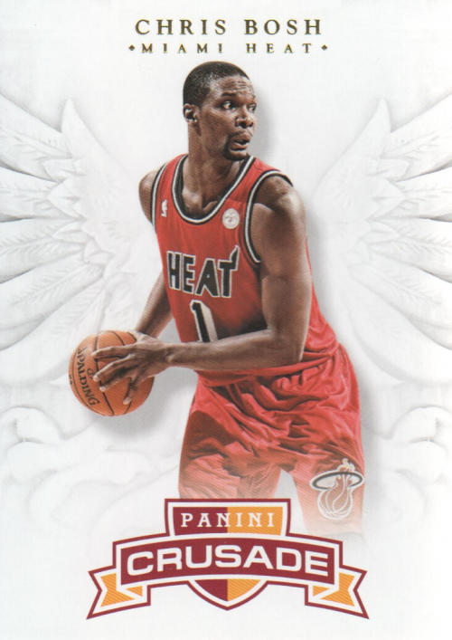 2012-13 Panini Crusade #11 Chris Bosh