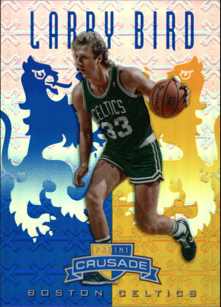 2012-13 Panini Crusade Insert Blue #75 Larry Bird