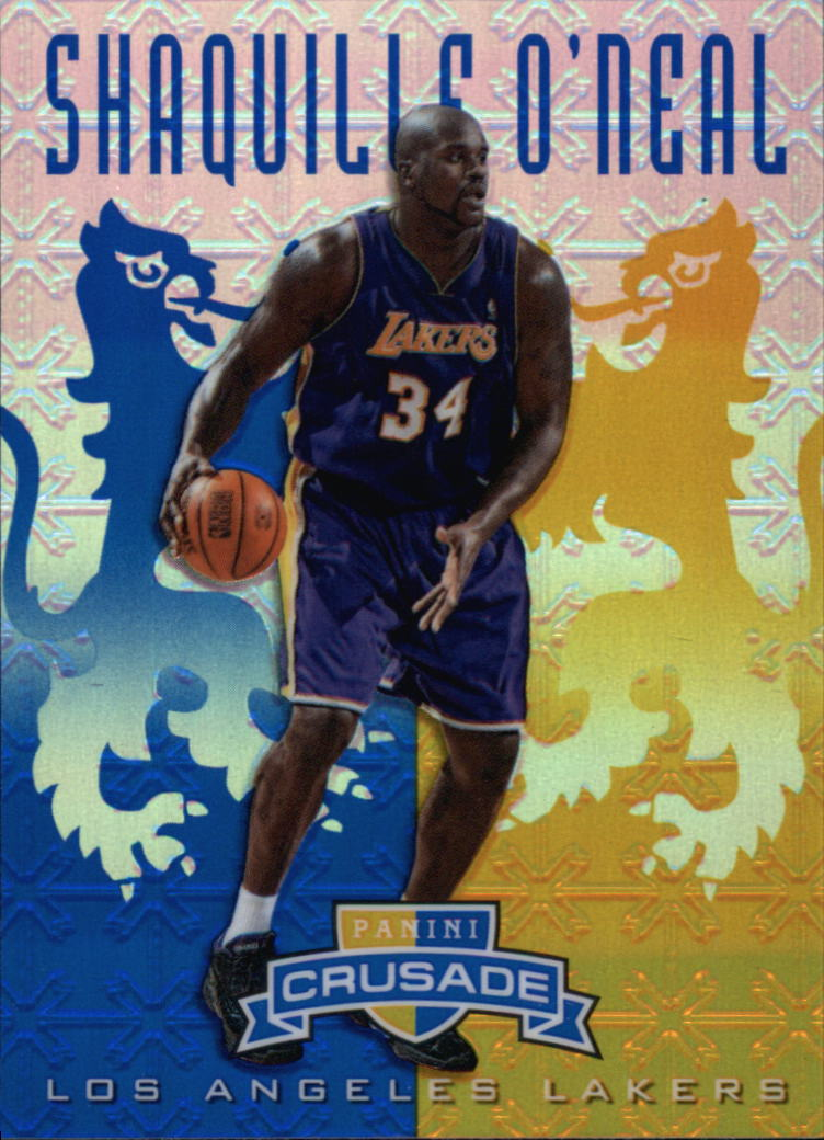 2012-13 Panini Crusade Insert Blue #134 Shaquille O'Neal