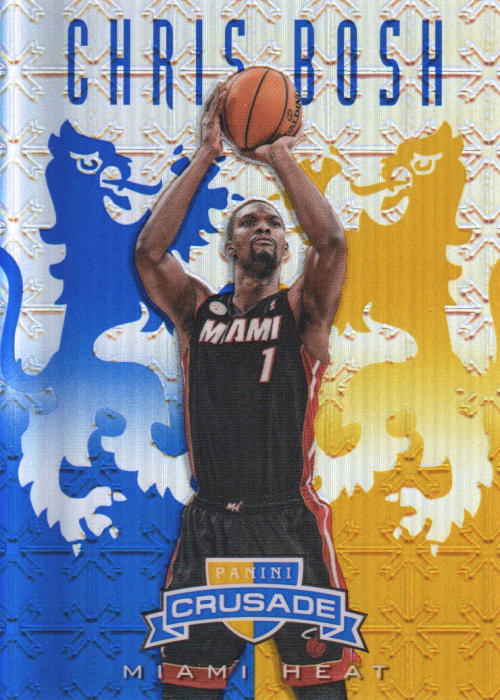 2012-13 Panini Crusade Insert Blue #286 Chris Bosh