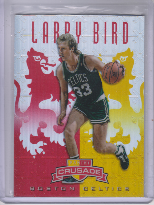 2012-13 Panini Crusade Insert Red #75 Larry Bird