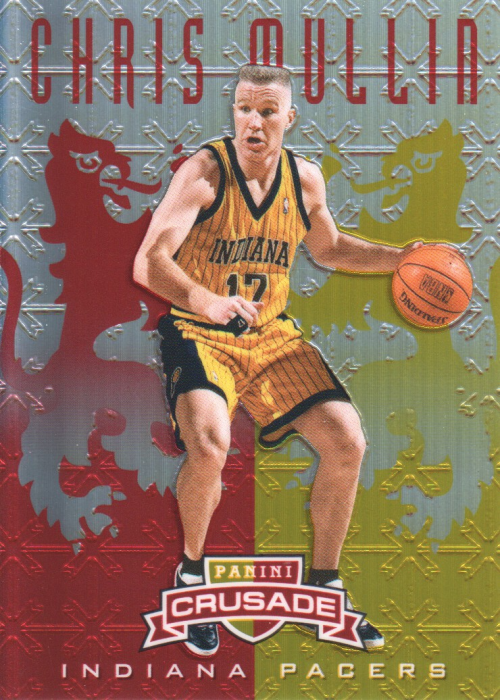 2012-13 Panini Crusade Insert Red #113 Chris Mullin