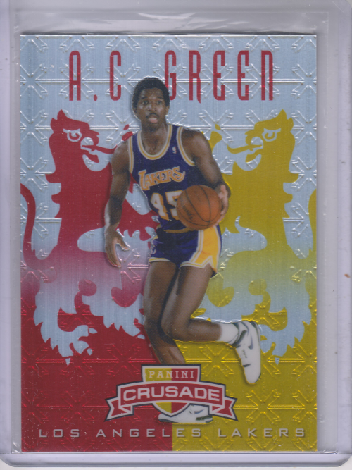 2012-13 Panini Crusade Insert Red #123 A.C. Green