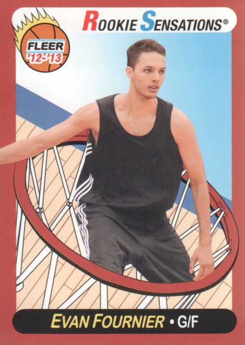 2012-13 Fleer Retro #57 Evan Fournier RS
