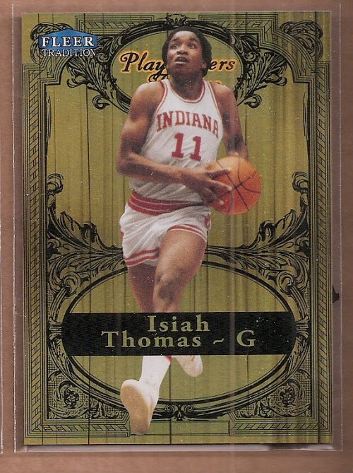 2012-13 Fleer Retro 98-99 Tradition Playmakers Theater #6PT Isiah Thomas