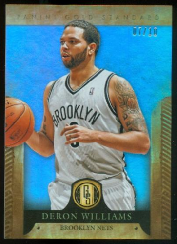 2012-13 Panini Gold Standard Platinum #12 Deron Williams