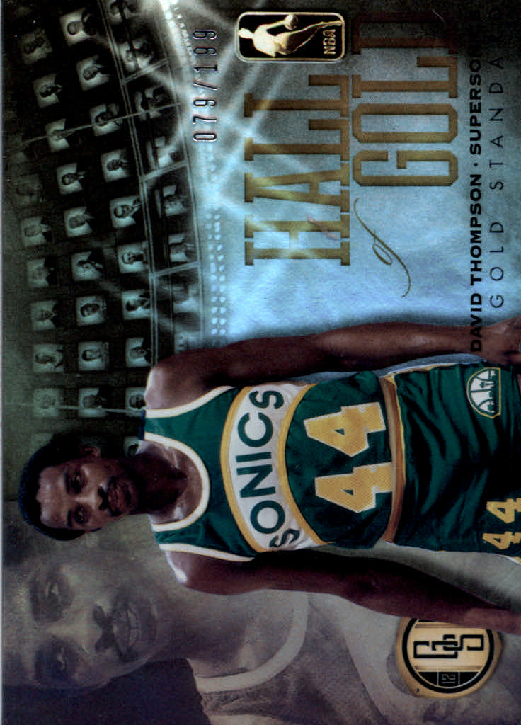 2012-13 Panini Gold Standard Hall of Gold #23 David Thompson