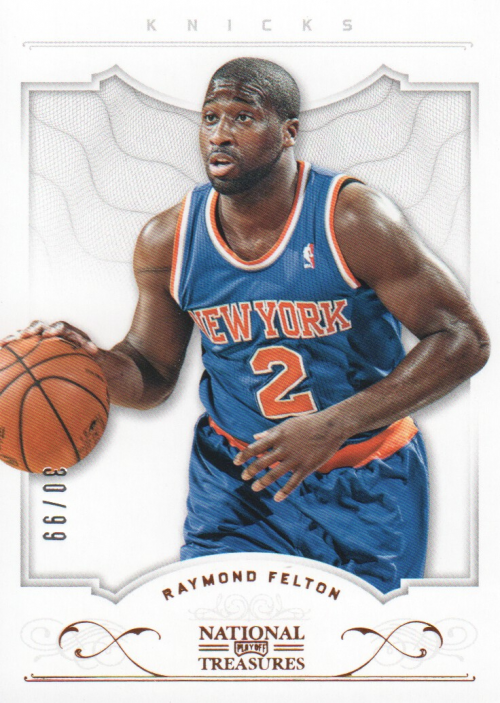 2012-13 Panini National Treasures #10 Raymond Felton
