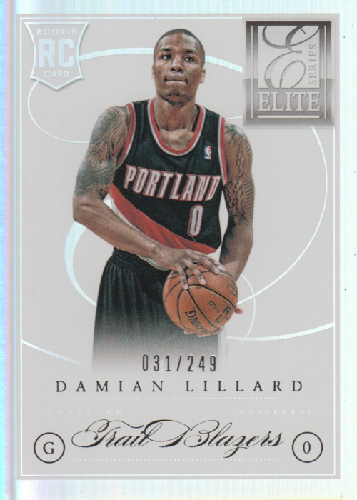 2012-13 Elite Series #201 Damian Lillard RC