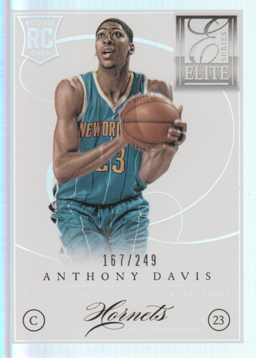2012-13 Elite Series #206 Anthony Davis RC