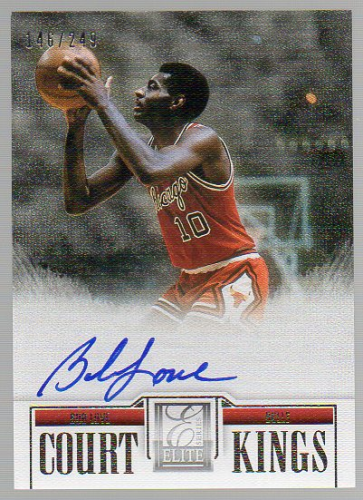 2012-13 Elite Series Court Kings Autographs #20 Bob Love/249