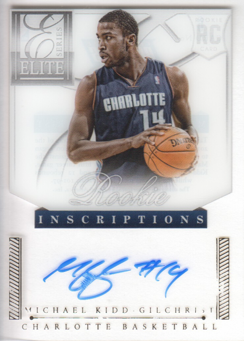 2012-13 Elite Series Rookie Inscriptions Autographs #6 Michael Kidd-Gilchrist