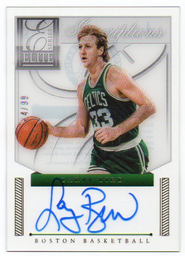 2012-13 Elite Series Veteran Inscriptions Autographs #4 Larry Bird/99