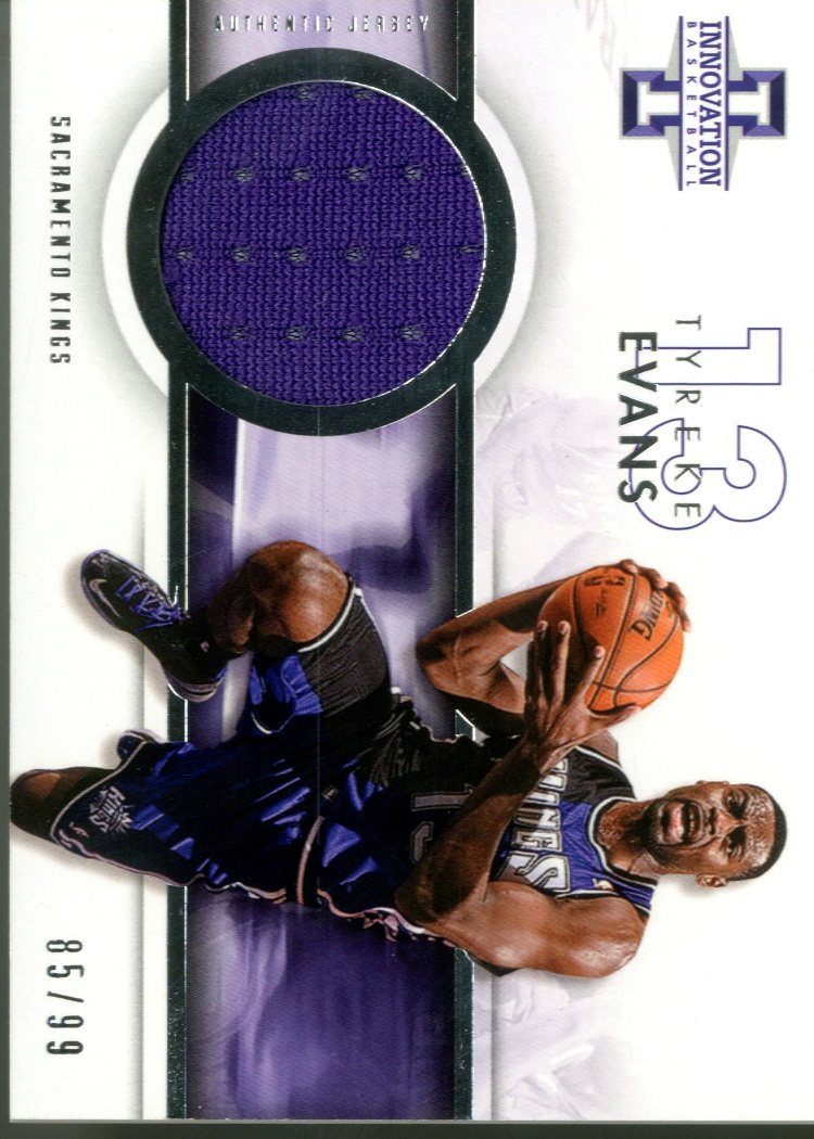 2012-13 Innovation Jerseys #25 Tyreke Evans/99