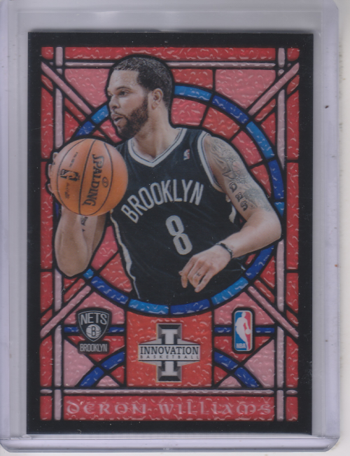 2012-13 Innovation Stained Glass #74 Deron Williams