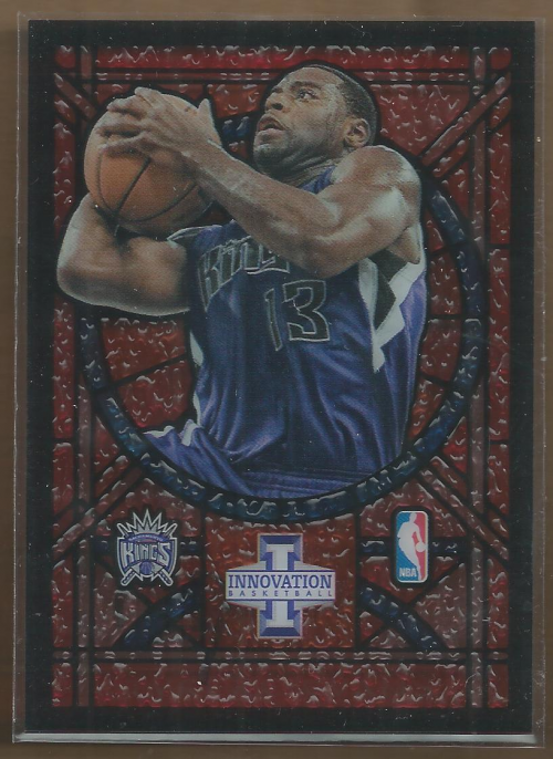 2012-13 Innovation Stained Glass #76 Tyreke Evans
