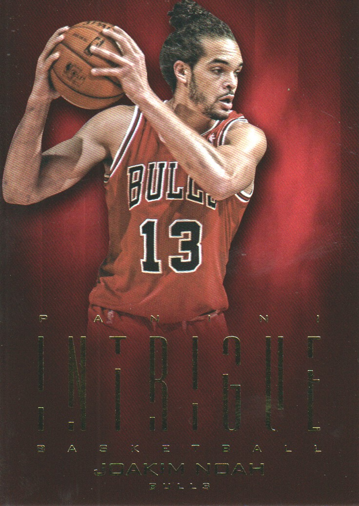 2012-13 Panini Intrigue #7 Joakim Noah