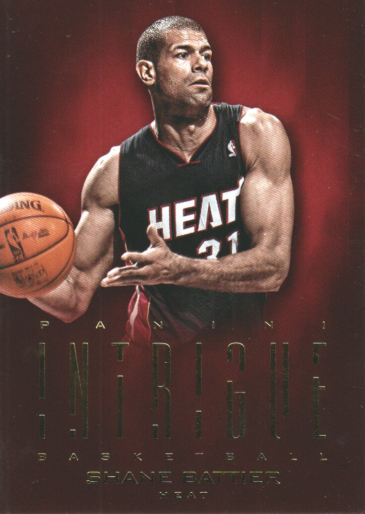 2012-13 Panini Intrigue #8 Shane Battier