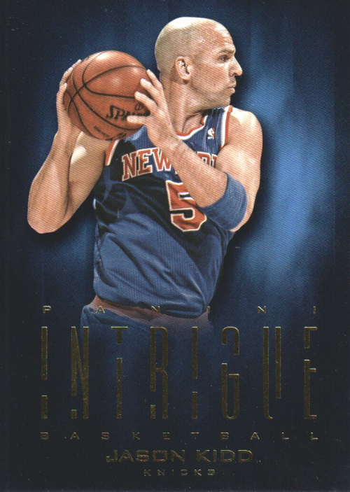 2012-13 Panini Intrigue #10 Jason Kidd
