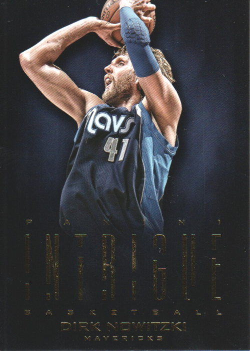 2012-13 Panini Intrigue #11 Dirk Nowitzki