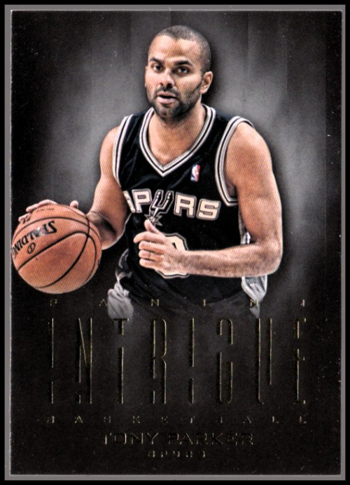 2012-13 Panini Intrigue #18 Tony Parker