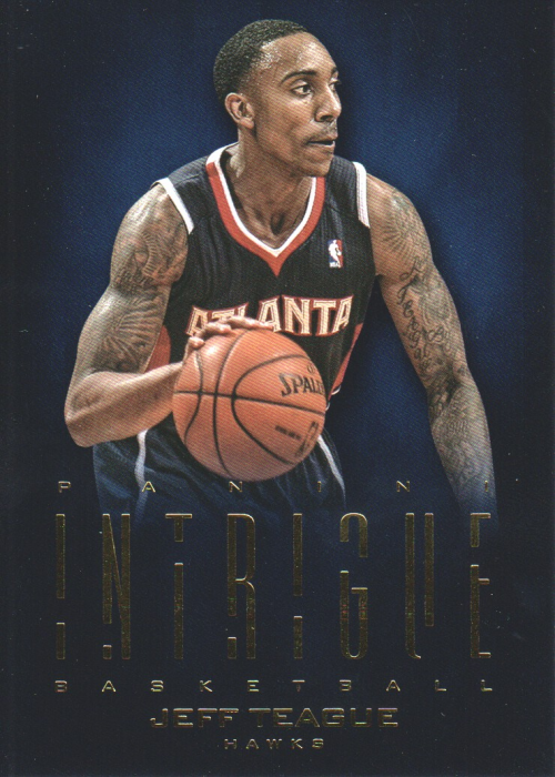 2012-13 Panini Intrigue #20 Jeff Teague