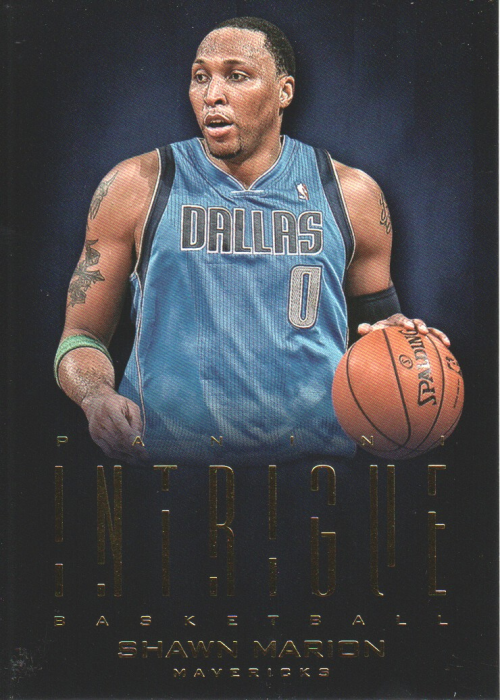 2012-13 Panini Intrigue #21 Shawn Marion