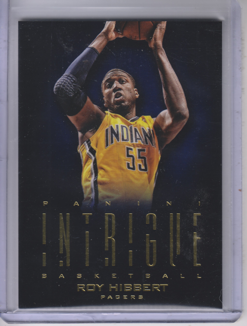 2012-13 Panini Intrigue #23 Roy Hibbert