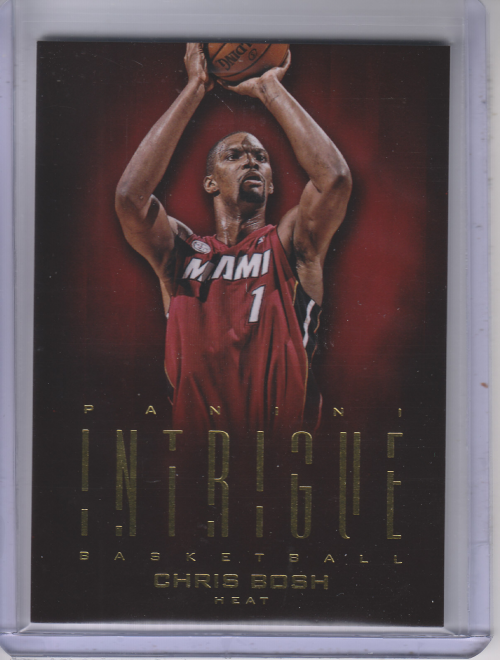 2012-13 Panini Intrigue #91 Chris Bosh