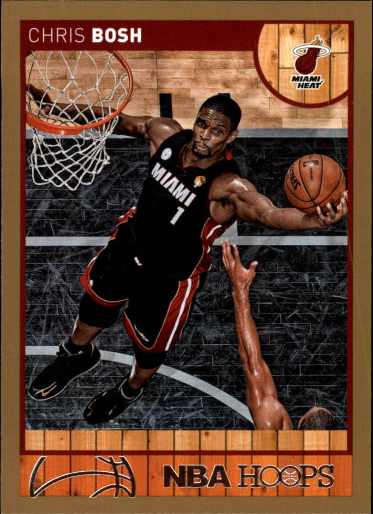 2013-14 Hoops Gold #47 Chris Bosh