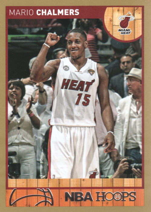 2013-14 Hoops Gold #97 Mario Chalmers