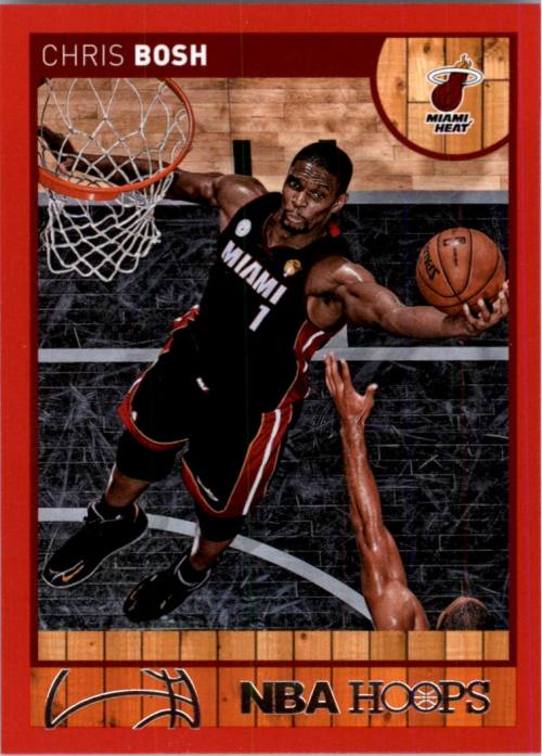 2013-14 Hoops Red #47 Chris Bosh