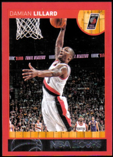 2013-14 Hoops Red #106 Damian Lillard