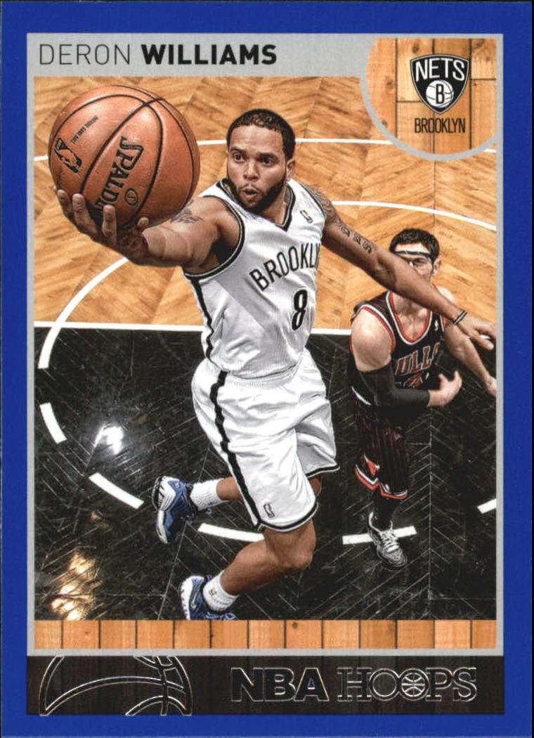 2013-14 Hoops Blue #35 Deron Williams