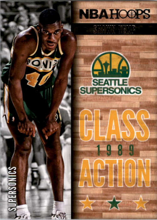 2013-14 Hoops Class Action #24 Shawn Kemp